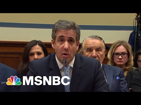 'They're Coming': Ex Trump Lawyer Cohen On New Charges