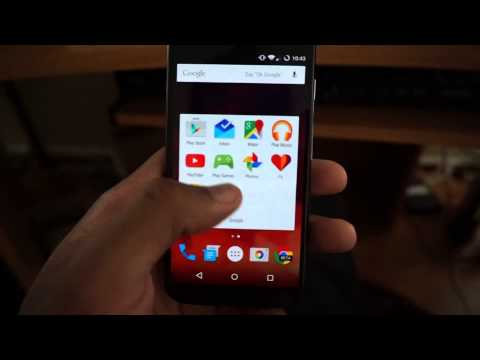 Moto X 1st Generation (2013) Android Lollipop 5.0.2