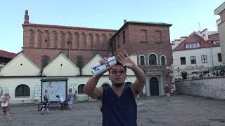 アキーラさん訪問①ポーランド・クラクフ・欧州最大のユダヤ人ゲットー!最古のユダヤ教会!Jewish town in Krakow in Poland