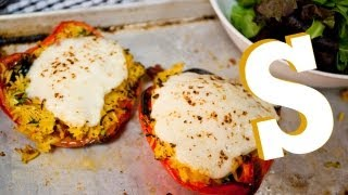 Vegetarian Stuffed Peppers Recipe - Sorted