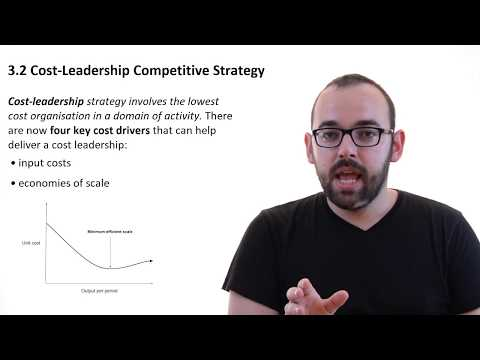 3.2 Cost-leadership Strategy