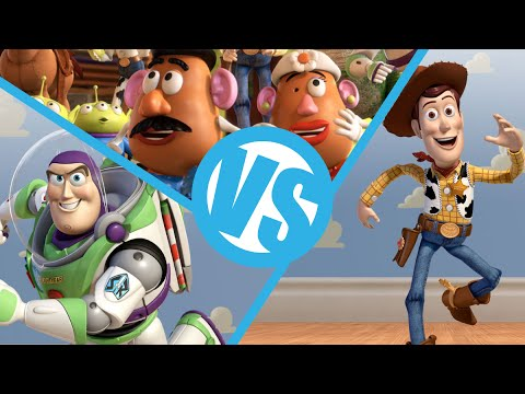 Toy Story VS Toy Story 2 VS Toy Story 3 : Movie Feuds ep116