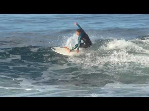Surfing in August    Camila Costa