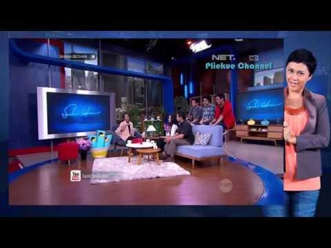 Sarach Sechan NET TV The Overtunes mendapat surprise dari orang tua