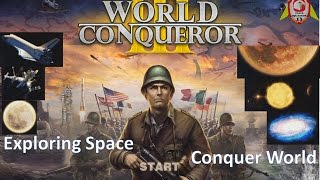 World Conqueror 3: From spaceshuttle to the Milky Way