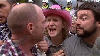 أستراليا: مشادات بين متظاهرين معادين للإسلام و آخرين رافضين للإسلاموفوبيا أدت إلى سقوط جرحى