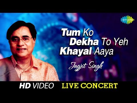 Mix - Tum Ko Dekha To Yeh Khayal Aya | Jagjit Singh | Live Concert Video
