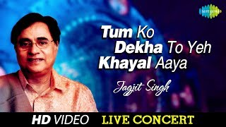 Tum Ko Dekha To Yeh Khayal Aya | Live In Sydney | Ghazal Video Song | Jagjit Singh