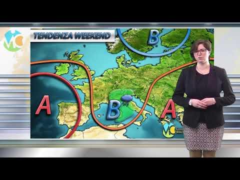 Piogge e temporali sull'Italia entro il prossimo weekend