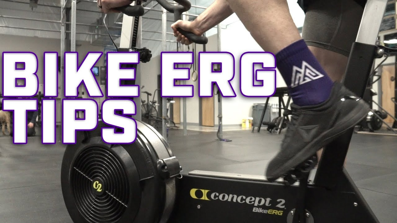 Concept 2 bike erg tips misfit quick tip youtube