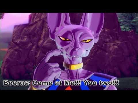 Dragon Ball Z: The Fallen God Of Destruction Movie -DBXV2