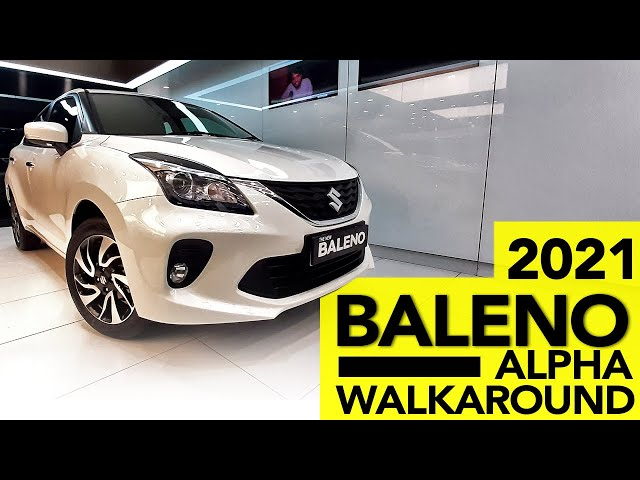 NEW Baleno 2021 - Alpha Bs6 Automatic   Complete Walkaround