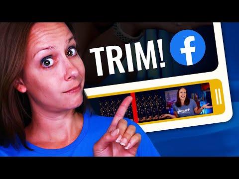 How To Trim A Facebook Live Video 2019