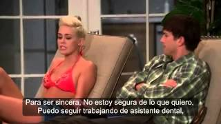 Miley Cyrus - En Two And A Half Men Capitulo Completo Subtitulado En Español Parte 2