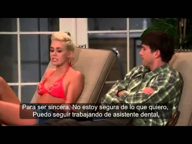 Miley Cyrus - En Two And A Half Men Capitulo Completo Subtitulado En Español Parte 2 Videos De Viajes
