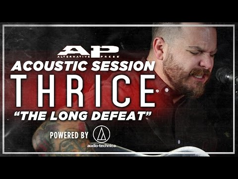 """APTV Sessions: THRICE - """"The Long Defeat"""""""