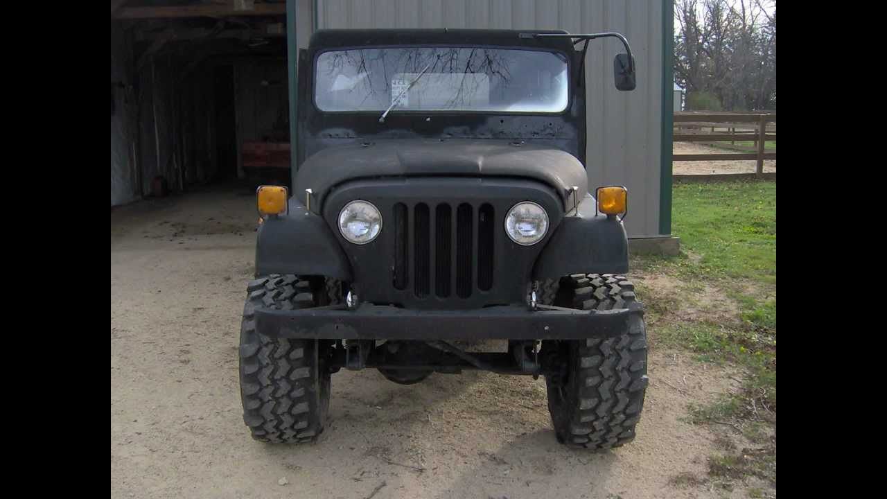 1973 Jeep Dj 5 4x4 Youtube