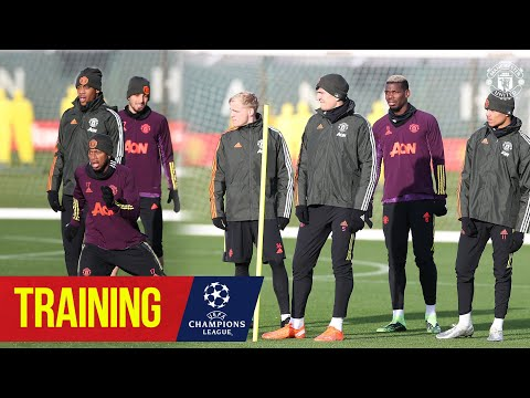 Training | Reds working hard ahead of Istabul Basaksehir Champions League clash | Manchester United