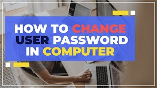 How to set password for new user in windows 7 | Basic Computer Course