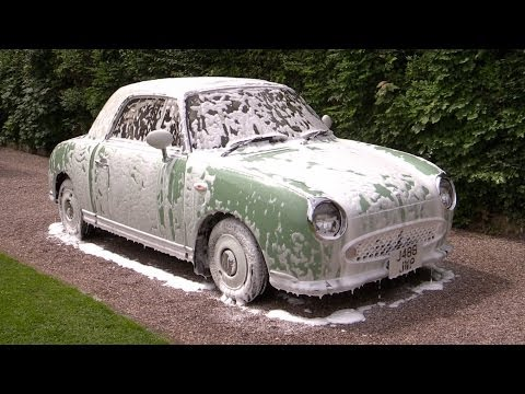 Neglected Nissan Figaro Gets A Bath