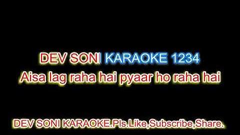 chhaya hai dil pe karaoke with lyrics by dev soniplslike subscribe and share