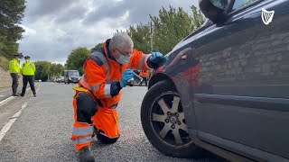 Safety experts urge motorists to 'get a grip' with tyre safety this winter