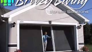 Breezy Living Garage Screen Door