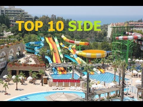 TOP 10 BEST 5 STAR HOTELS SIDE, TURKEY 2018.