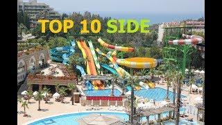 TOP 10 BEST 5 STAR HOTELS SIDE, TURKEY 2018.