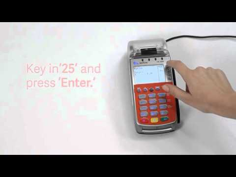 Getting started with Worldpay: Your Verifone VX 520 terminal