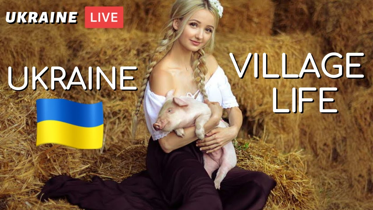 REAL Ukraine Village Life