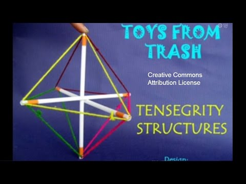 Tensegrity Structures Bhojpuri Fun With Structures Youtube