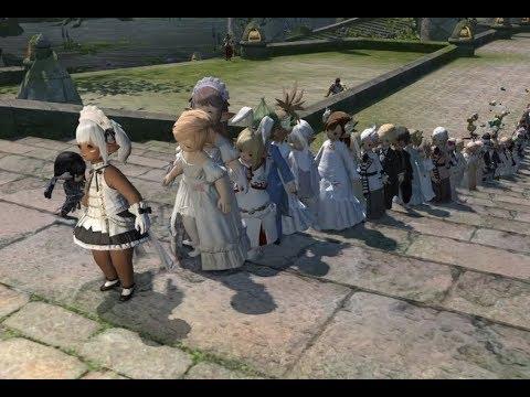 【FF14】かつて見たことない革命的な結婚式!