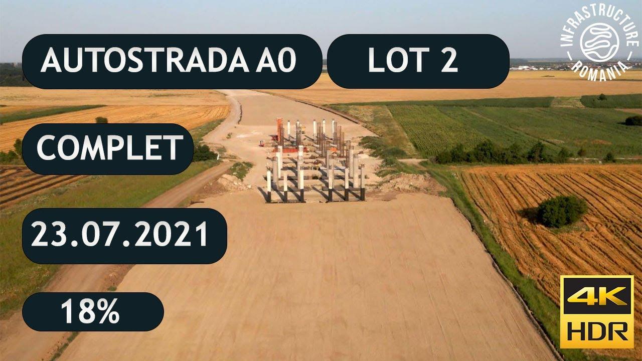 Download Autostrada A0 Sud Lot2 - Complet - Centura București- 4K HDR - 23.07.2021