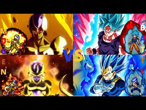 Frieza & Cooler vs Goku & Vegeta