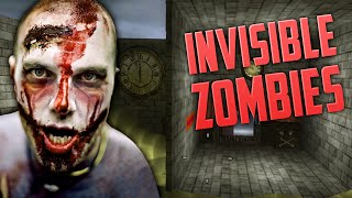 INVISIBLE ZOMBIES (Part 2) ★ Call of Duty Zombies Mod (Zombie Games)