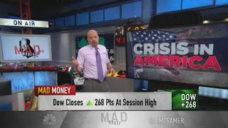 China and Europe 'bailed our stock market out,' Jim Cramer says