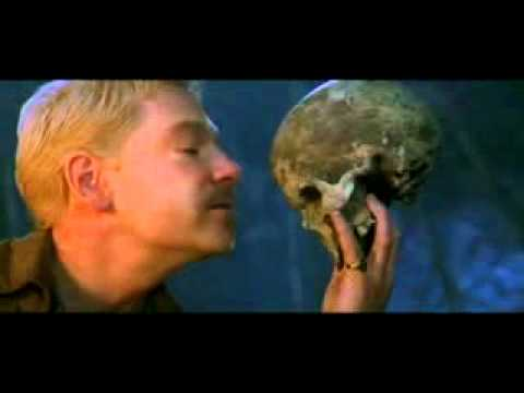 Kenneth Branagh ~ Hamlet ~ Gravediggers scene ~ Part 2 ~ Imperious Caesar, dead and turned to clay www keepvid com
