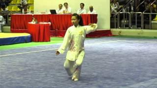 第七屆亞洲青少年武術錦標賽 - 女子42式太極拳金牌 - 莫宛螢