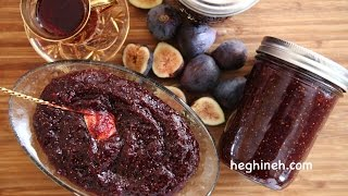 How to Make Fig Jam - Fig Jam Recipe - Heghineh Cooking Show