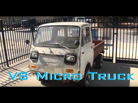 Taking the V8 Daihatsu Hijet on a run to the Lumber Yard
