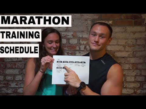 Marathon Training schedule | How to train for a marathon