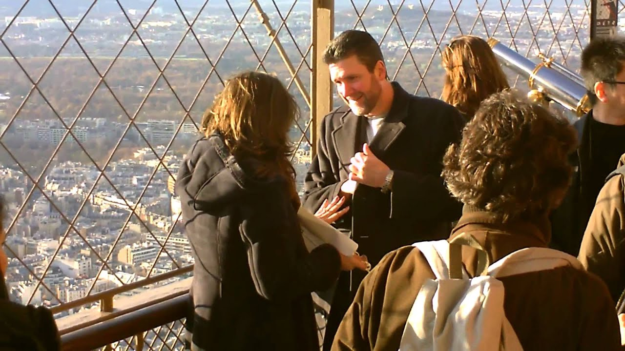 Marriage Proposal Eiffel Tower YouTube