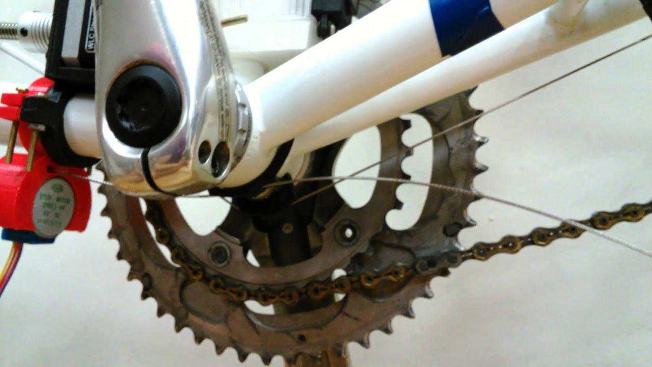 腳踏車電動變速器機構 - YouTube