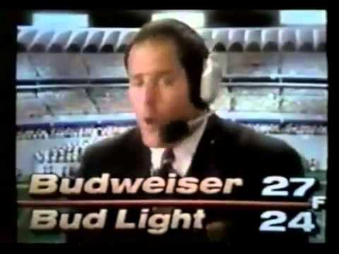 Budweiser Super Bowl XXVI ad  Bud Bowl IV part 2 1992152