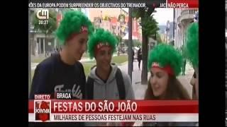 Jornal8 da CMTV em direto no São João de Braga