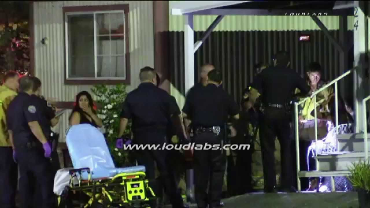 Man Stabbed To Death In Home Pomona RAW FOOTAGE