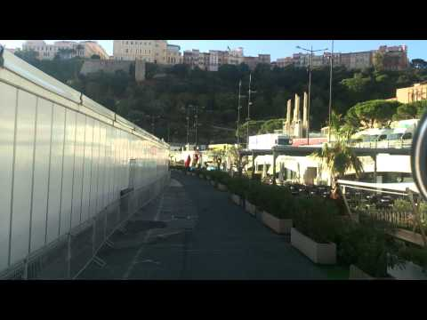 Trucking through the narrow streets and tunnels of Monaco
