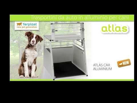 Trasportino per cani e gatti atlas aluminium for Youtube cani e gatti