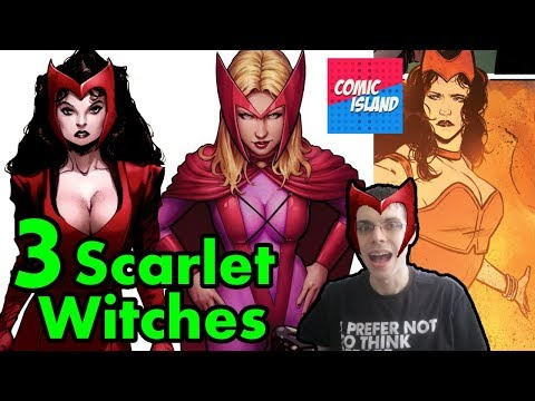 Origins/Bio - 3 Scarlet Witches: Where are they now?